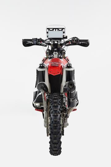 honda crf450 back side